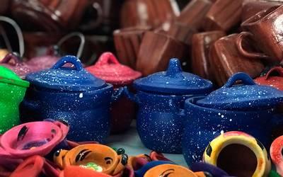 Mercado De Artesanías Del Corazón A Las Manos El Sol De México