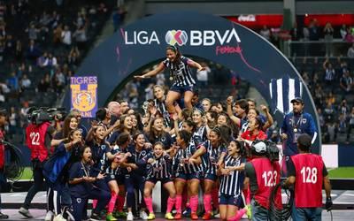 Lo Consiguen Rayadas De Monterrey Campeonas Del Futbol