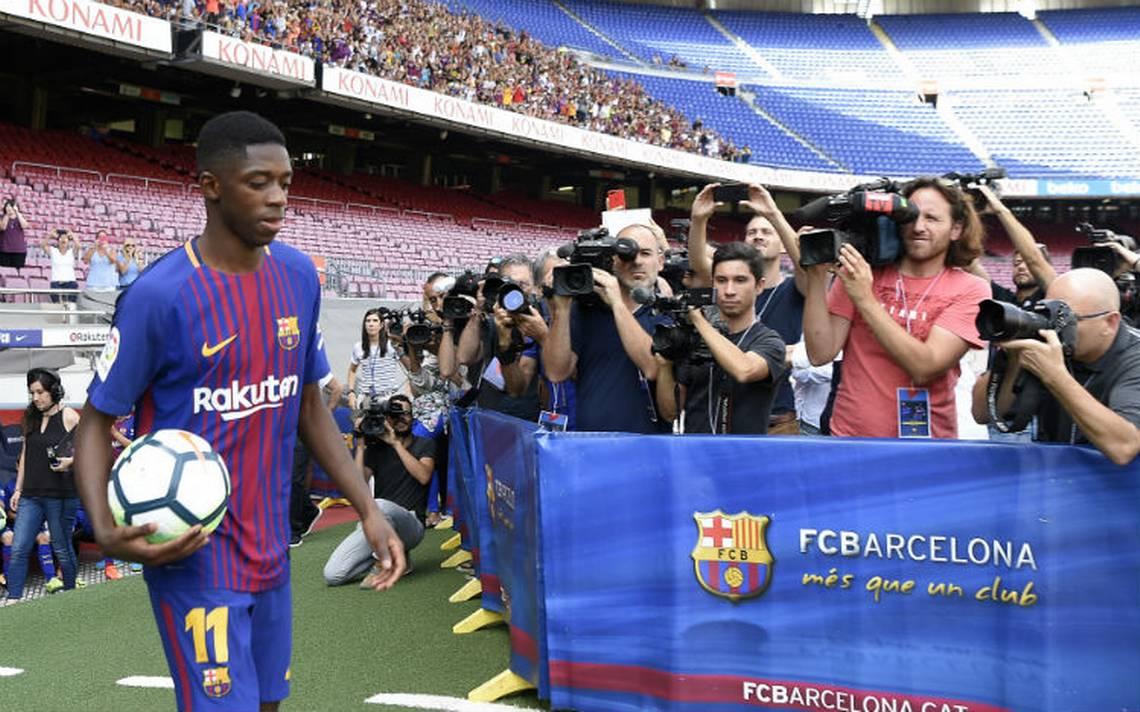FC Barcelona confirmó millonario fichaje de Ousmane Dembélé