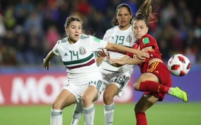Tri femenil pierde 1-2 con España y se queda con subcampeonato mundial Sub17  - El Sol de México e89c8edb2859b