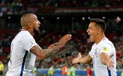 Chile logra su primer triunfo en Copa Confederaciones al vencer a Camerún 2814cf4437dda