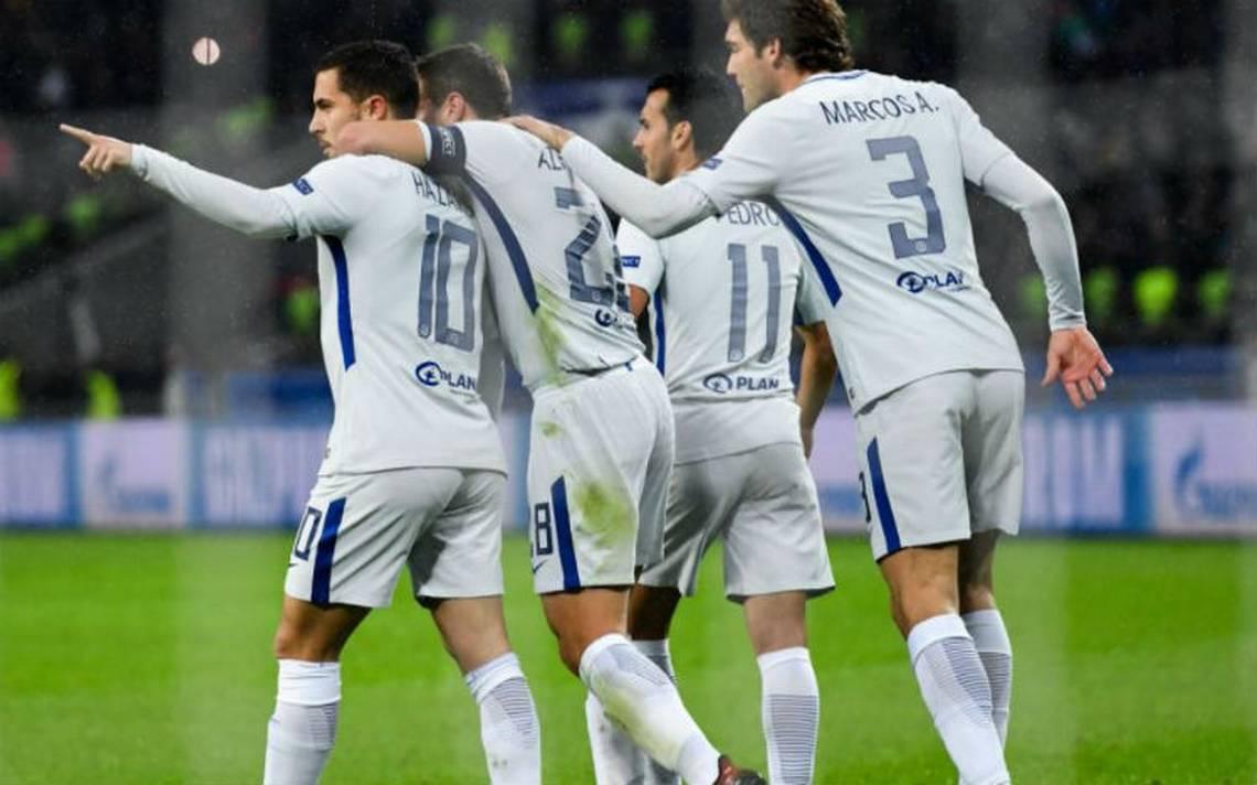 Chelsea golea y sella su pase a la Fase Final de Champions