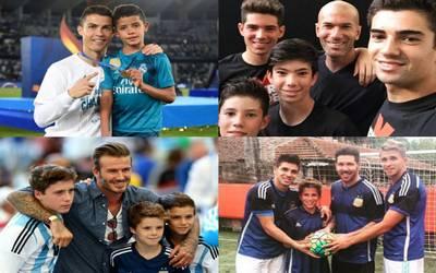Los mejores papás futbolistas de Rusia 2018 - El Sol de México 3feee05341eef
