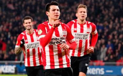 newest 9fb9f 41351 Chucky Lozano se luce con un doblete en victoria de PSV - El ...