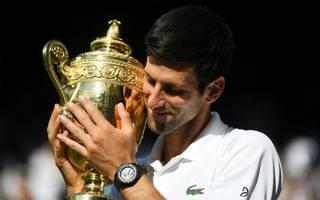 f2e19ac9d88 Djokovic derrota a Anderson y conquista su cuarto título en Wimbledon.