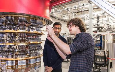 Resultado de imagen para computadora cuantica google