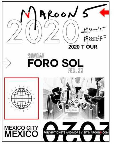 Maroon 5 Tour 2020.Confirmado Maroon 5 Vuelve A Mexico Con 2020 Tour El Sol