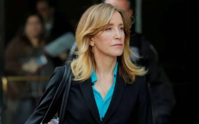 Resultado de imagen para Felicity Huffman se declara culpable en escándalo universitario