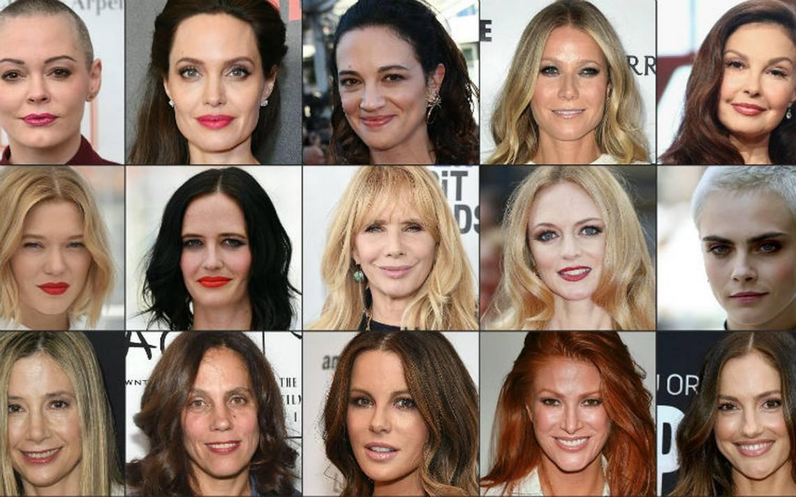 Los rostros de las víctimas de abuso sexual de Harvey Weinstein ...