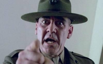 "Muere R. Lee Ermey, el terrible sargento de ""Full Metal Jacket ..."