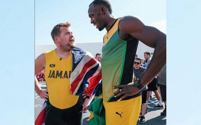 Video James Corden Vs Usain Bolt Una Carrera Unica Diario De