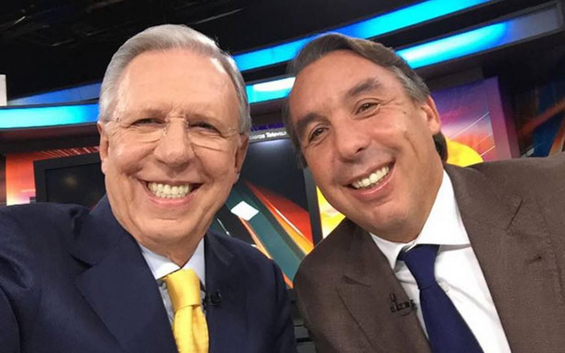 López-Dóriga y Azcárraga Jean se despiden con selfie - La Voz de ...