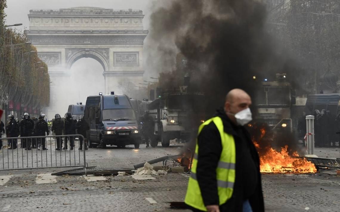 francia en caos van 130 detenidos por disturbios contra gasolinazos diario de xalapa. Black Bedroom Furniture Sets. Home Design Ideas