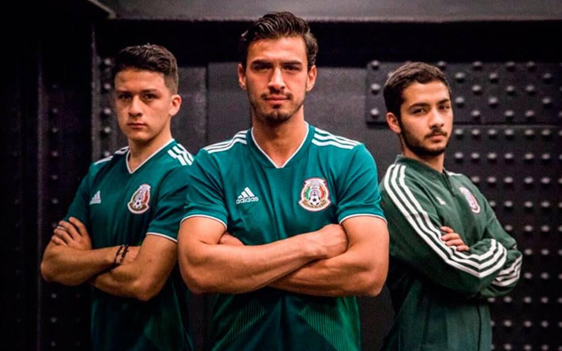 Esta es la nueva playera de la Selección Mexicana que portará en Rusia 2018  - El Sol de México db6bd72ff47e2