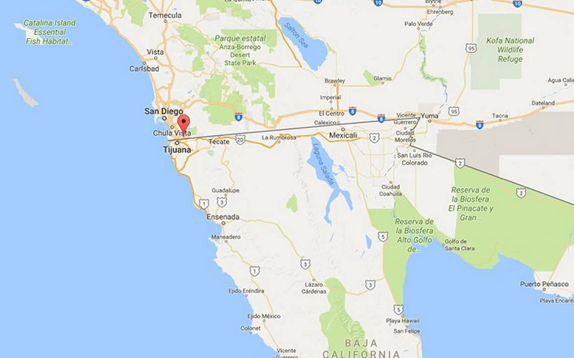 Construyen en San Diego prototipos para el muro de Trump