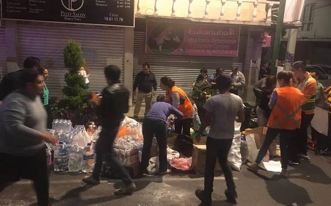 Tras 26 horas entre escombros, rescatan a hombre