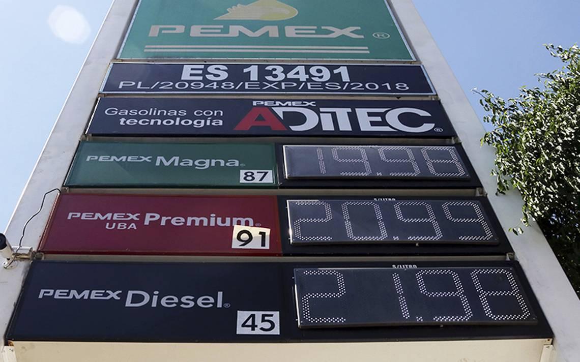 Gasolina, retiran estímulo fiscal