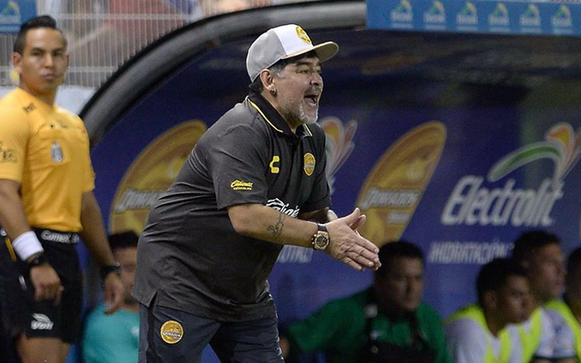 Dorados Image: Maradona Debuta Con El Pie Derecho: Dorados Golea 4-1 A