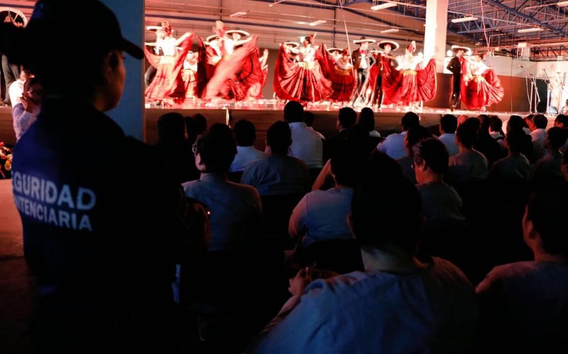 Reos Disfrutan De Cine Teatro Danza Y Más En Penales Federales