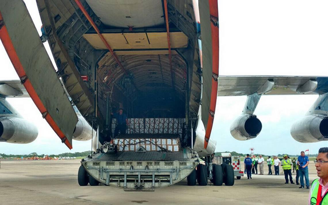 Bolivia envía 11 toneladas de ayuda a México