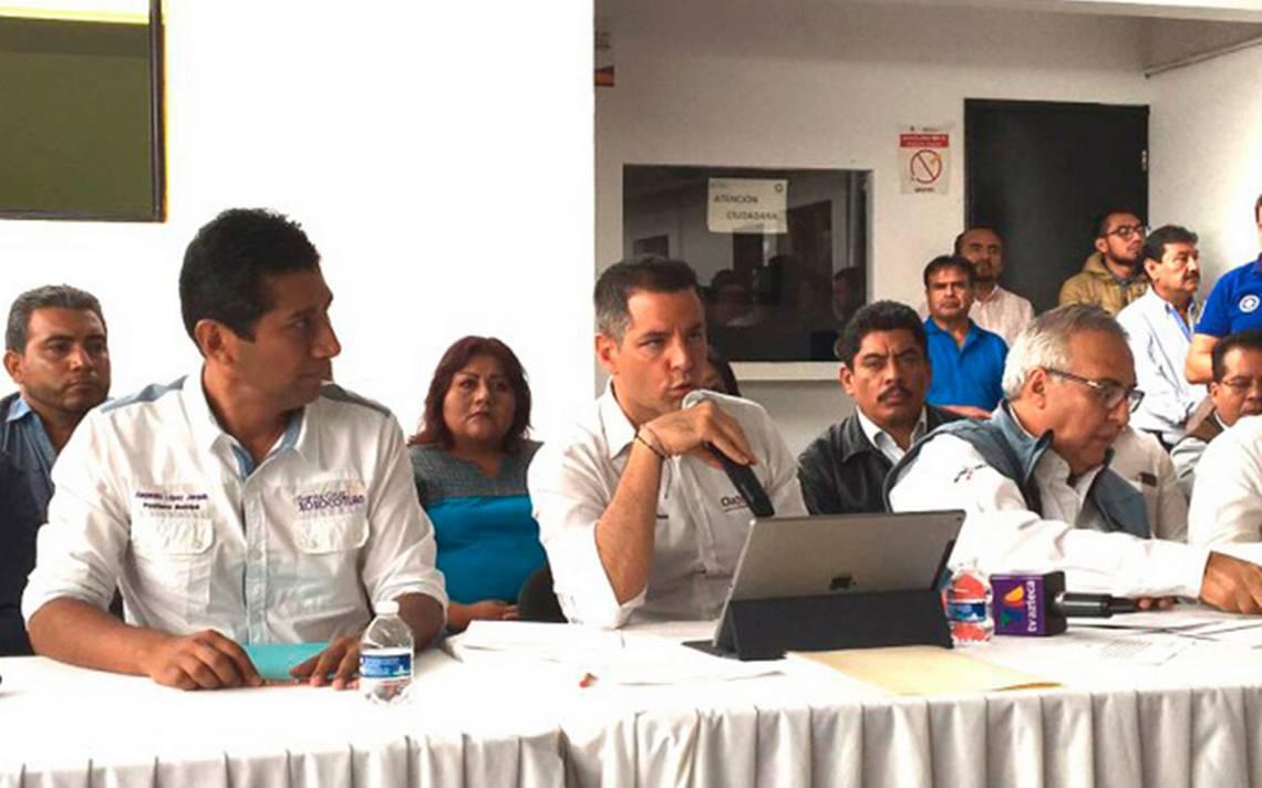 Cohetón alcanza helicóptero de Presidencia en Oaxaca