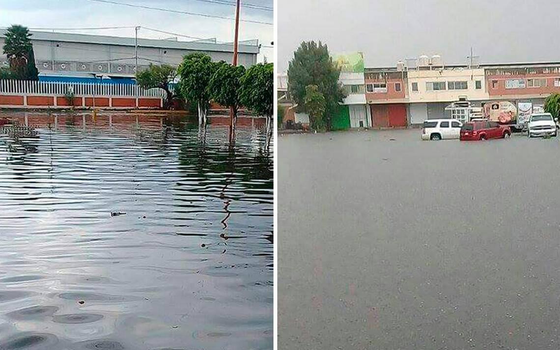 Desbordan Emisor Poniente, presa El Ángulo y río San Javier