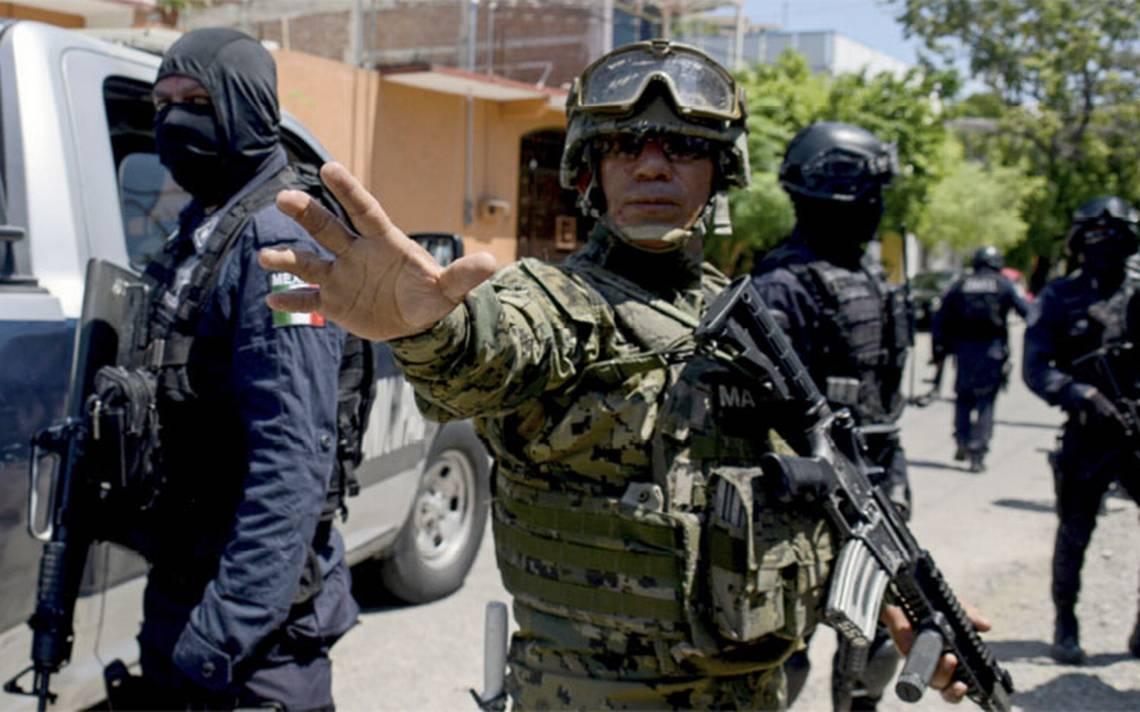 marina toma control de seguridad en acapulco el sol de san luis