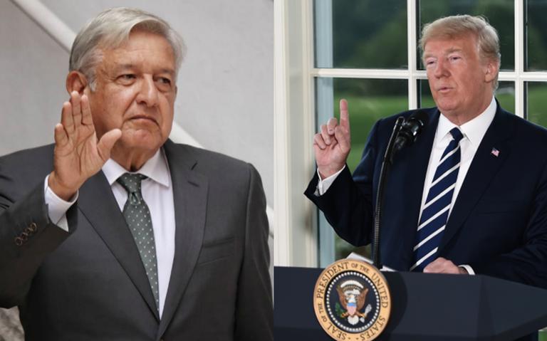 López Obrador hablará con Trump sobre el tema migratorio