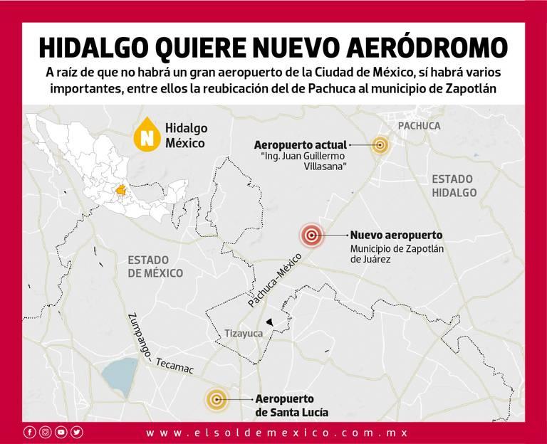 Reubicaran Aeropuerto De Pachuca El Sol De Mexico