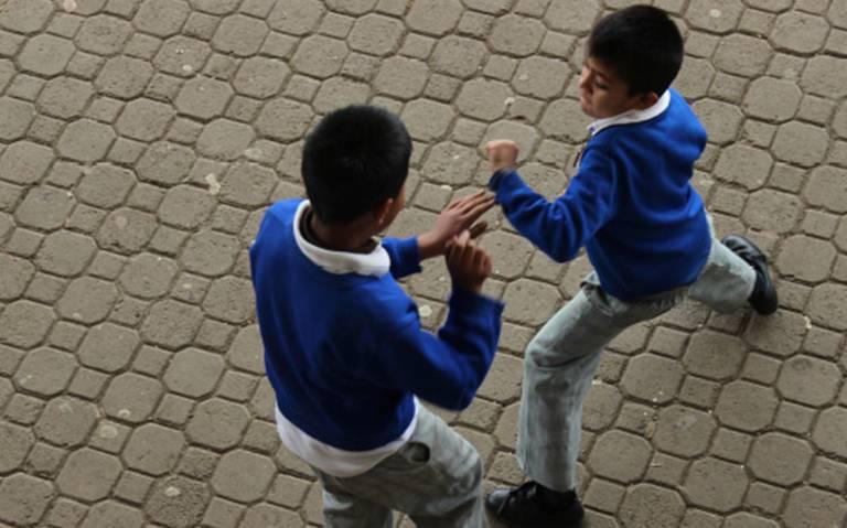 Diariamente los alumnos de las escuelas corren el riesgo de ser blanco de agresiones o burlas de parte de compañeros más grandes. Foto: Cuartoscuro
