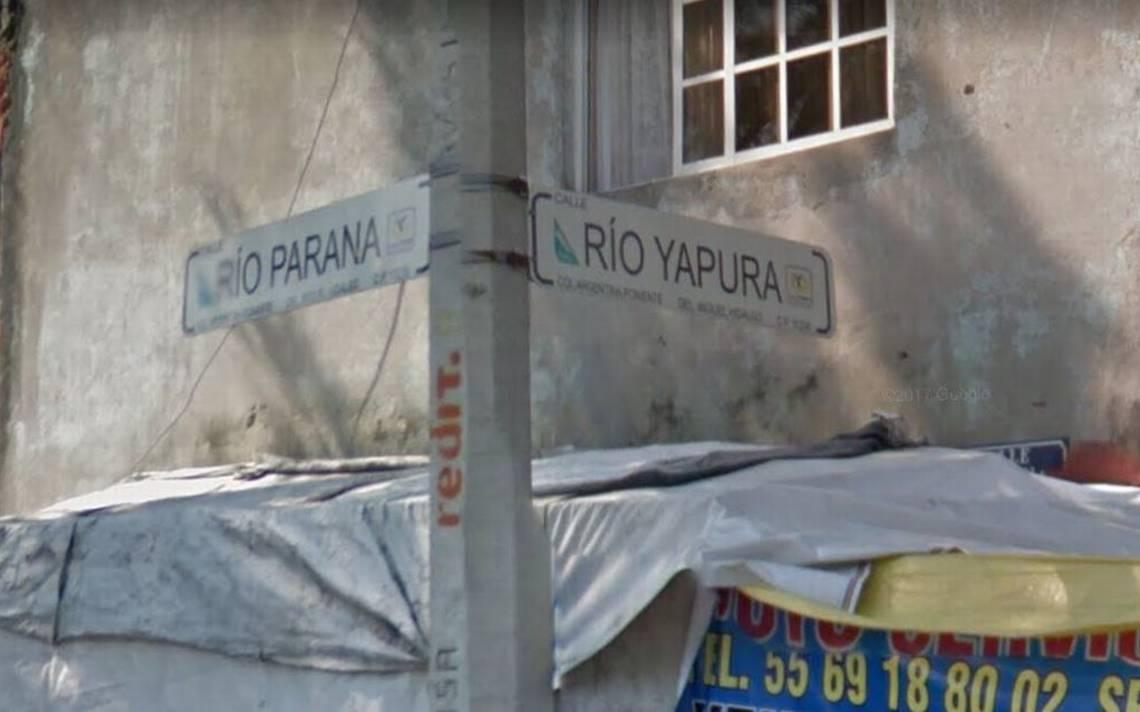 calles de la colonia argentina miguel hidalgo.JPG