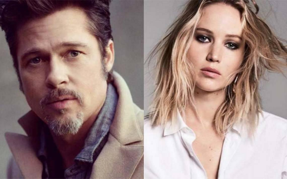 Brad Pitt y Jennifer Lawrence tendrían una relación amorosa