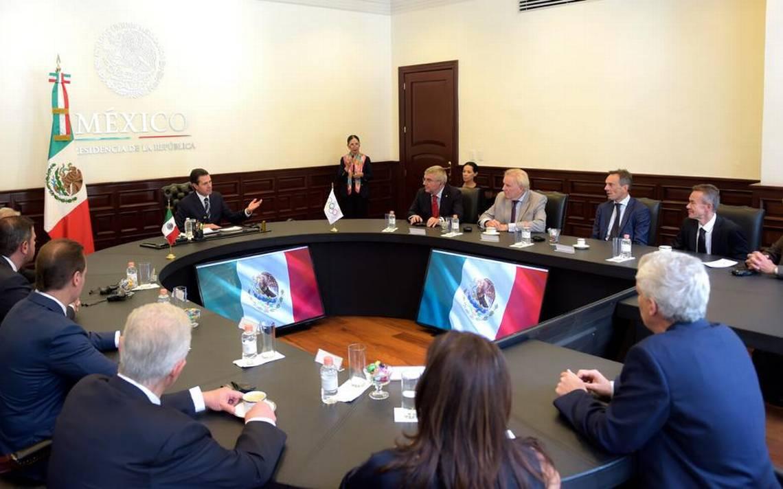 eb28a2d1fea1 Peña Nieto dice de Juegos Olímpicos del 68 recuerdan valores de paz y  solidaridad - El Heraldo de Chihuahua