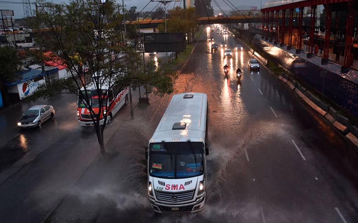 [Galería] Afectan lluvias a cinco municipios del valle de México