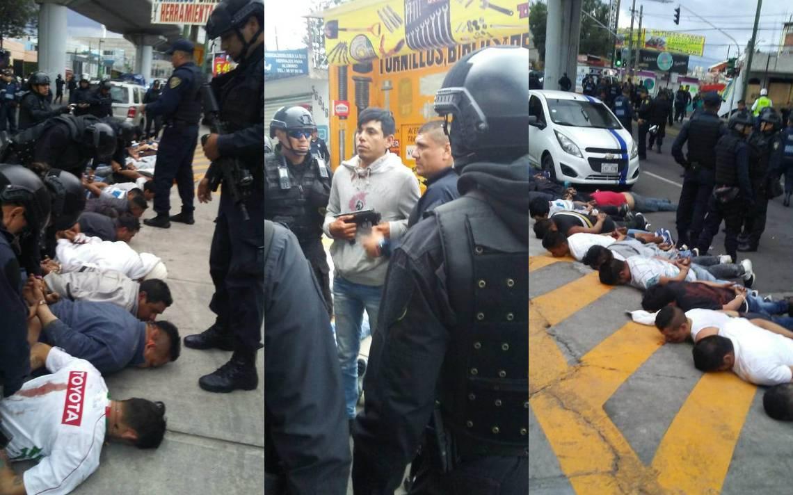 Asi Fue La Balacera En Avenida Tlahuac Que Dejo  Muertos Y  Detenidos El Sol De Mexico
