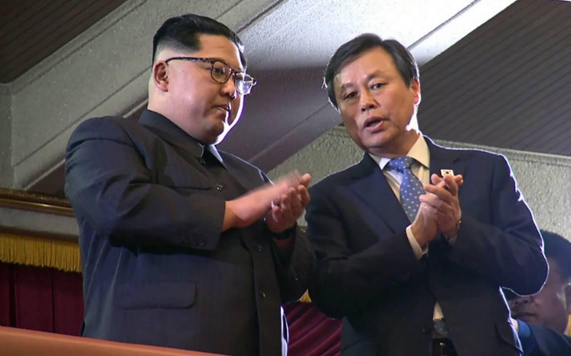 Kim asiste por primera vez a evento artístico fuera de su país