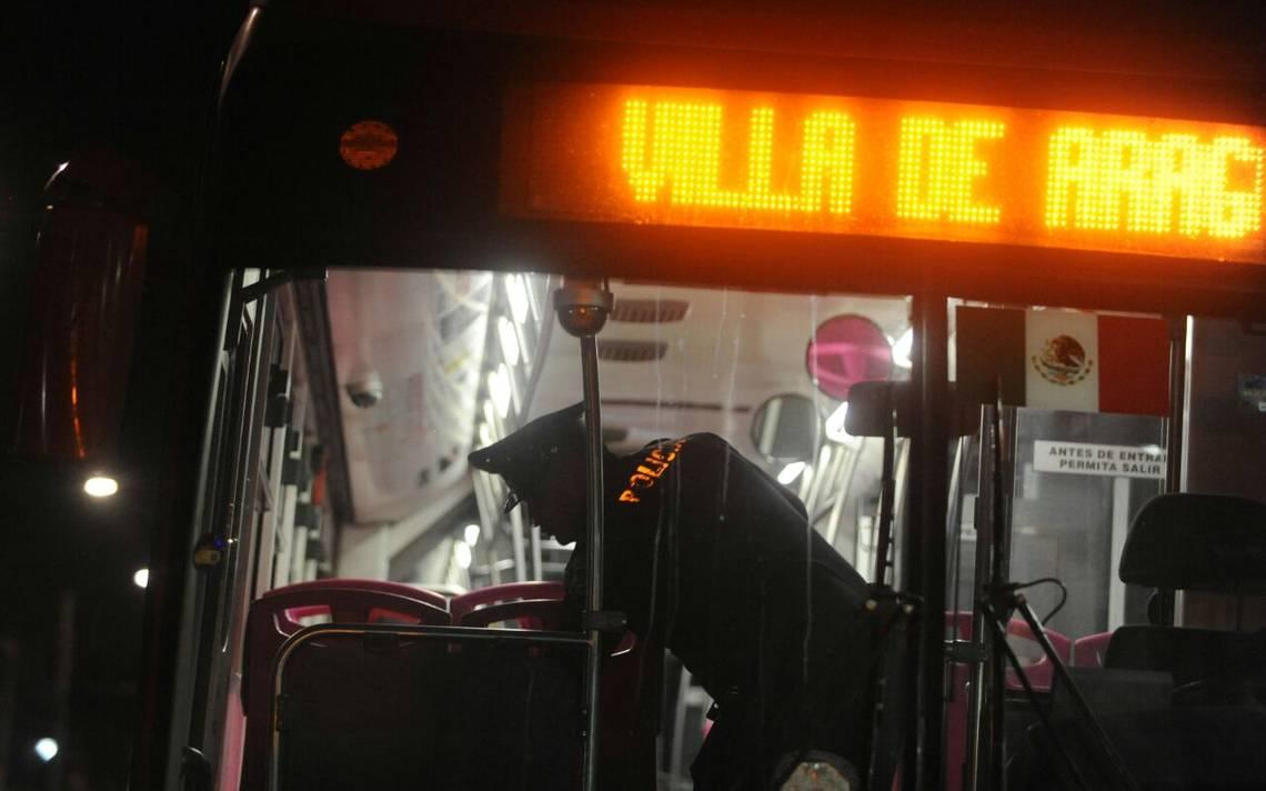 Metrobús reporta segundo asalto a pasajeros