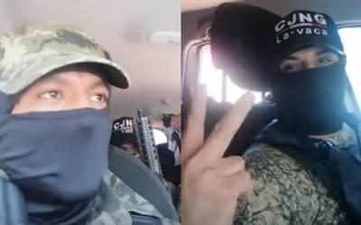 09f009f950824 Investigan video de presuntas amenazas del CJNG a delincuentes en la ...