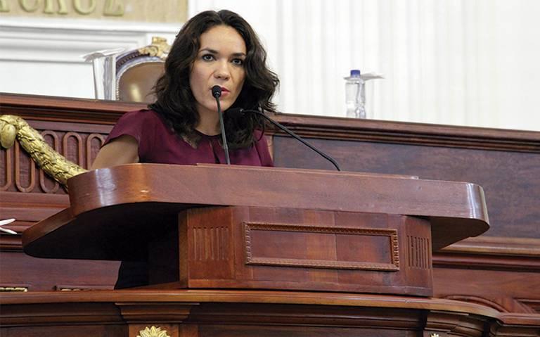 Dunia Ludlow Deloya, Presidenta de la Comisión de Vivienda en la ALDF. Foto: Cortesía