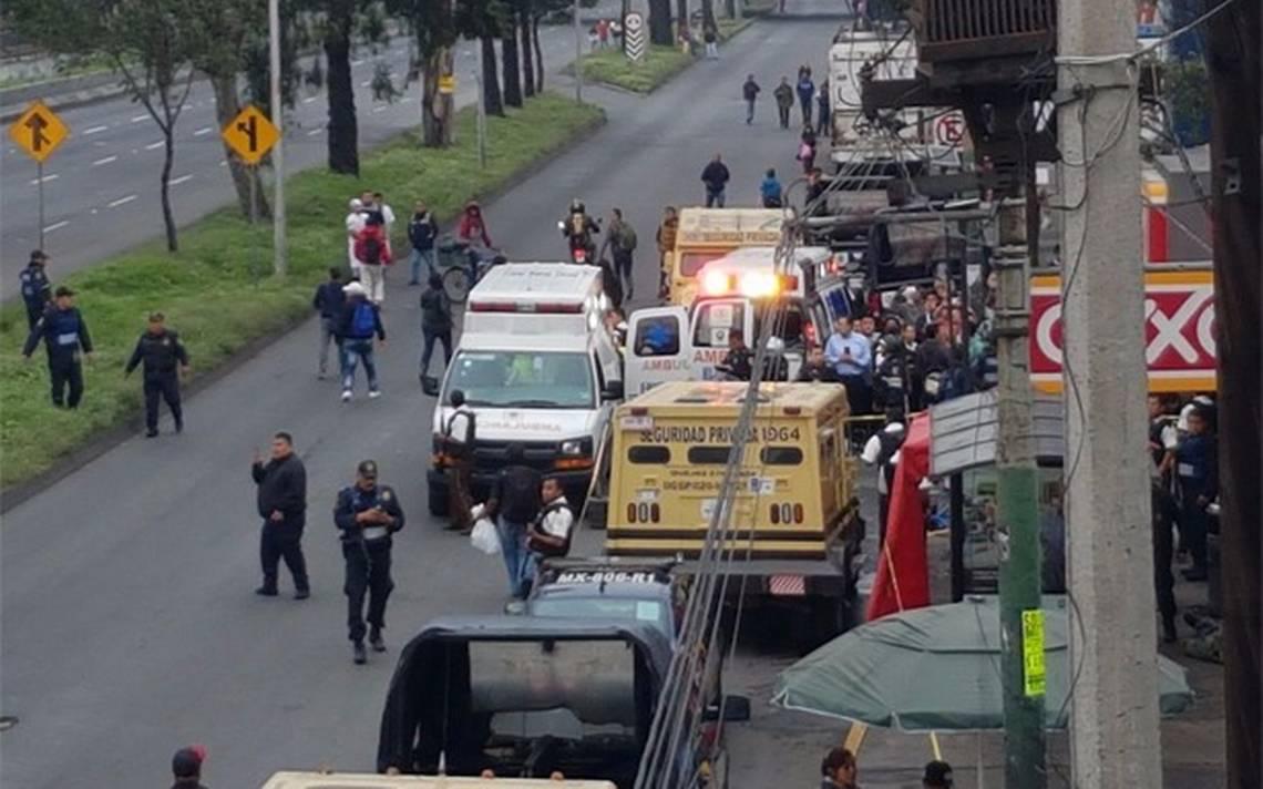 Intento de asalto a camioneta de valores en Iztapalapa