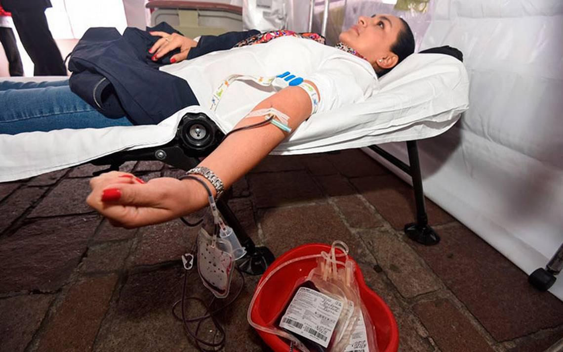 requisitos de donar sangre en mexico
