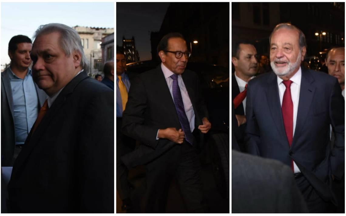 Empresarios cenan con AMLO en apoyo a rifa del avión presidencial - El Sol  de México