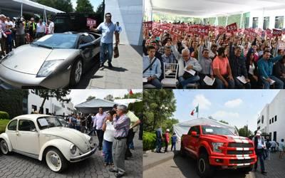 Subasta De Carros >> Se Van Los Autos Mas Caros De La Subasta En Los Pinos El