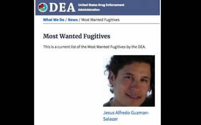 Hijo de El Chapo ingresa a la lista de los 10 más buscados
