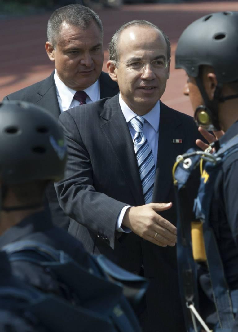 Él es Genaro García Luna, ex funcionario acusado de aceptar