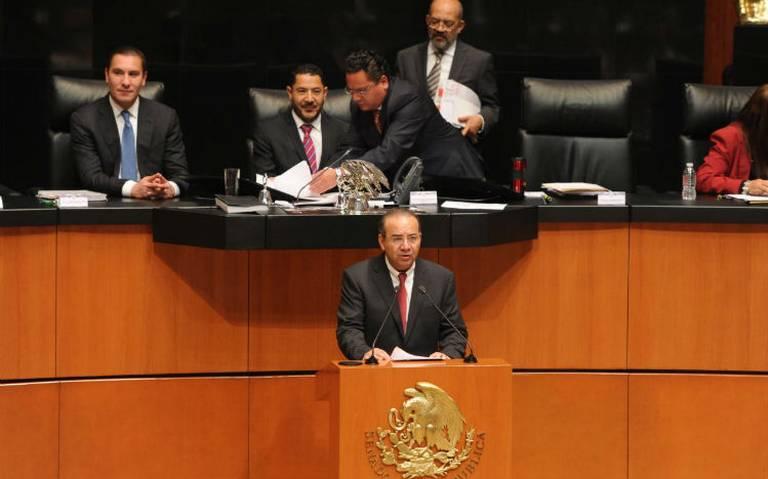 Reconoce Navarrete Prida que 1 de cada 4 municipios no tiene capacidad de brindar seguridad