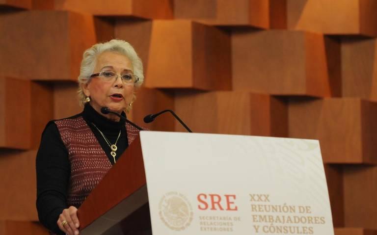 Migración será ordenada en este gobierno, asegura Sánchez Cordero
