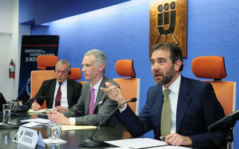 INE acompaña, no sustituye a institutos locales, afirma Lorenzo Córdova