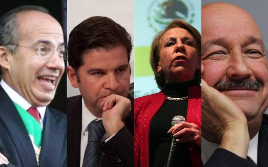 """Resultado de imagen para Carlos Salinas de Gortari, Ernesto Zedillo, Vicente Fox y Felipe Calderón que participaron en la """"etapa de destrucción"""""""