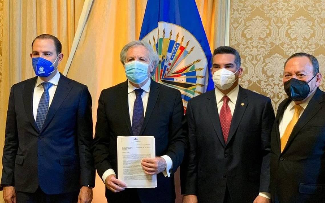 PAN, PRI y PRD denuncian ante OEA intervención del narco en elecciones 2021  - El Sol de México | Noticias, Deportes, Gossip, Columnas